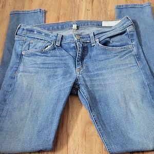 Rag & Bone Denim Skinny Jeans Size 29